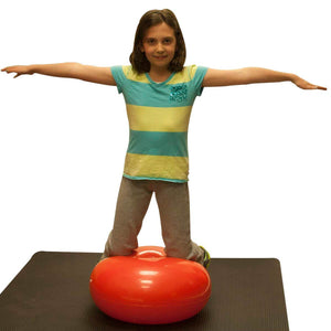CanDo® Inflatable Donut Exercise Ball 4