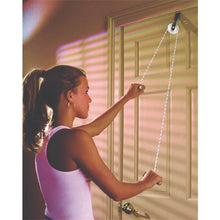 Load image into Gallery viewer, CanDo® Overdoor Shoulder - Single Pulley with Door Disc Anchor
