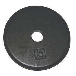 CanDo®Fitness Iron Disc Weight Plate - 5 lb
