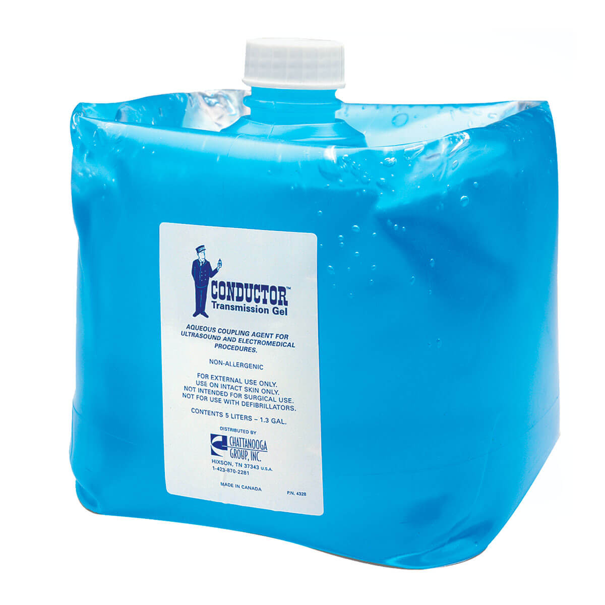 Chattanooga® Conductor Transmission Ultrasound Gel 5 liter