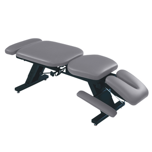 "ErgoBasic™ Treatment Table - Hi-Low 80"" L x 30"" W x 18""-24"" H 6-Section dove"