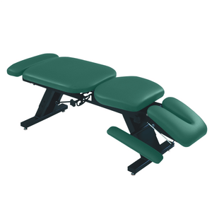 "ErgoBasic™ Treatment Table - Hi-Low 80"" L x 30"" W x 18""-24"" H 6-Section forest"