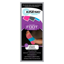 Load image into Gallery viewer, Kinesio® Tape Tex Gold Pre-cut foot