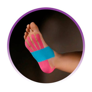 Kinesio® Tape Tex Gold Pre-cut foot