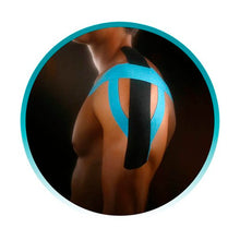 Load image into Gallery viewer, Kinesio® Tape Tex Gold Pre-cut shoulder