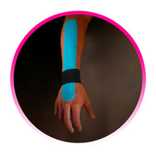 Load image into Gallery viewer, Kinesio® Tape Tex Gold Pre-cut wrist