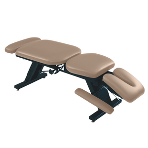 "ErgoBasic™ Treatment Table - Hi-Low 80"" L x 30"" W x 18""-24"" H 6-Section lark"