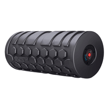 Load image into Gallery viewer, black LifePro 4-Speed Vibrating Foam Roller