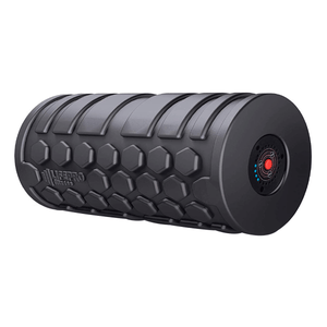 black LifePro 4-Speed Vibrating Foam Roller