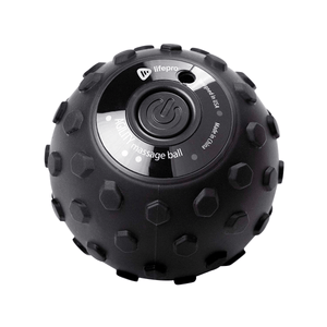 black LifePro 4-Speed Vibrating Massage Ball