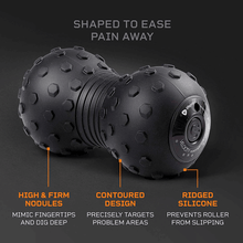 Load image into Gallery viewer, black LifePro 4-Speed Vibrating Massage Ball - Peanut Massage