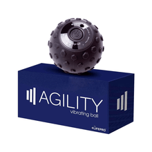 Load image into Gallery viewer, black LifePro 4-Speed Vibrating Massage Ball