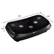 Load image into Gallery viewer, LifePro Rumblex 4D Vibration Plate Exercise Machine dimensions