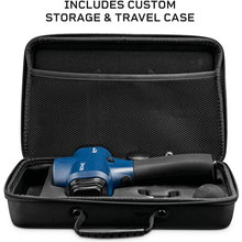 Load image into Gallery viewer, black travel case for LifePro Sonic Handheld Percussion Massage Gun