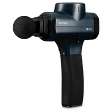 Load image into Gallery viewer, black LifePro Sonic Handheld Percussion Massage Gun