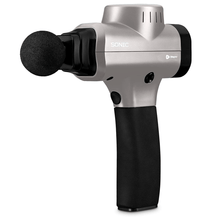 Load image into Gallery viewer, silver LifePro Sonic Handheld Percussion Massage Gun