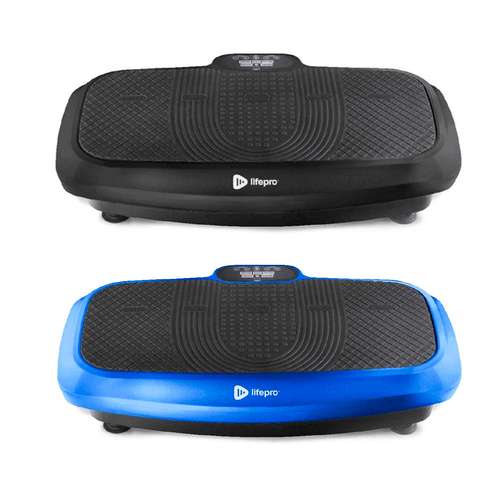 LifePro Turbo 3D Vibration Plate Exercise Machine - Dual Motor Oscillation, Pulsation and 3D Motion Vibration Platform
