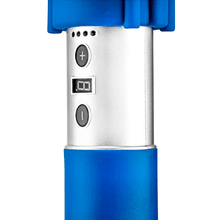 Load image into Gallery viewer, blue Lifepro Sonic LX Professional Percussion Massage Gun buttons