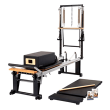 Load image into Gallery viewer, Merrithew Rehab V2 Max Plus™ Reformer Bundle black
