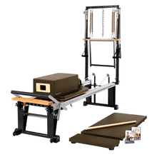 Load image into Gallery viewer, Merrithew Rehab V2 Max Plus™ Reformer Bundle bronze