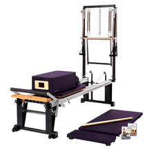 Load image into Gallery viewer, Merrithew Rehab V2 Max Plus™ Reformer Bundle concord purple