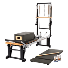 Load image into Gallery viewer, Merrithew Rehab V2 Max Plus™ Reformer Bundle gunmetal gray