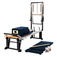 Load image into Gallery viewer, Merrithew Rehab V2 Max Plus™ Reformer Bundle imperial blue