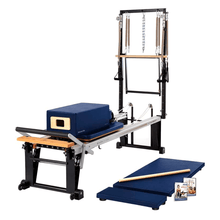 Load image into Gallery viewer, Merrithew Rehab V2 Max Plus™ Reformer Bundle royal blue
