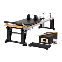Load image into Gallery viewer, Merrithew Rehab V2 Max™ Reformer Bundle black