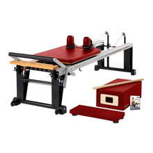 Load image into Gallery viewer, Merrithew Rehab V2 Max™ Reformer Bundle dark cherry