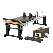 Load image into Gallery viewer, Merrithew Rehab V2 Max™ Reformer Bundle gunmetal gray