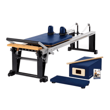 Load image into Gallery viewer, Merrithew Rehab V2 Max™ Reformer Bundle royla blue