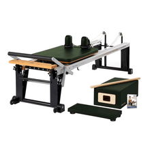 Load image into Gallery viewer, Merrithew Rehab V2 Max™ Reformer Bundle yew green