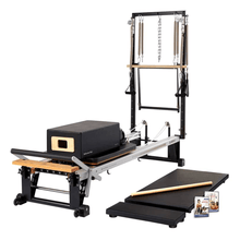 Load image into Gallery viewer, Merrithew V2 Max Plus™ Reformer Bundle black
