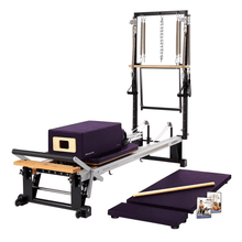 Load image into Gallery viewer, Merrithew V2 Max Plus™ Reformer Bundle concord purple