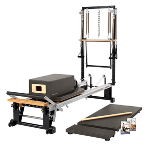 Merrithew V2 Max Plus™ Reformer Bundle gunmetal gray