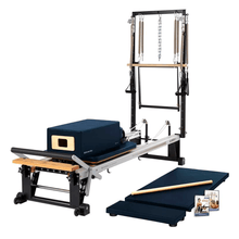 Load image into Gallery viewer, Merrithew V2 Max Plus™ Reformer Bundle imperial blue