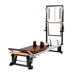 Merrithew V2 Max Plus™ Reformer chestnut brown