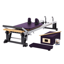 Load image into Gallery viewer, Merrithew V2 Max™ Reformer Bundle concord purple
