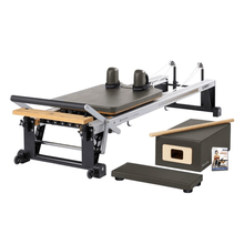 Load image into Gallery viewer, Merrithew V2 Max™ Reformer Bundle gunmetal gray