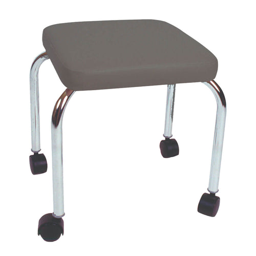 Mobile Stool with no Back - Square Top 18