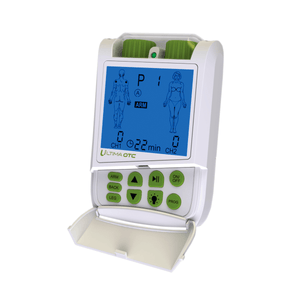 PMT Medical Ultima OTC TENS Unit - Electric Muscle Contraction Stimulator for Pain Relief white