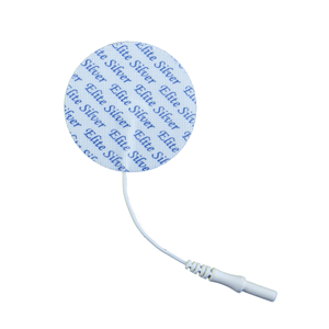 PMT Soft-Touch Silver Electrodes Tricot Back (Tyco Gel) 2 round