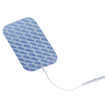 Load image into Gallery viewer, PMT Soft-Touch Silver Electrodes Tricot Back (Tyco Gel) 2x4