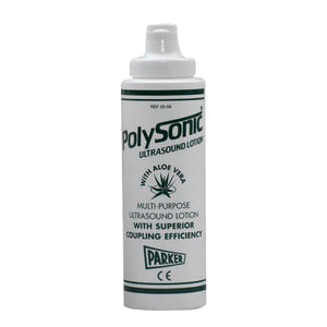 Polysonic® Ultrasound Lotion - 250ml (8.5oz) Bottle with aloe vera