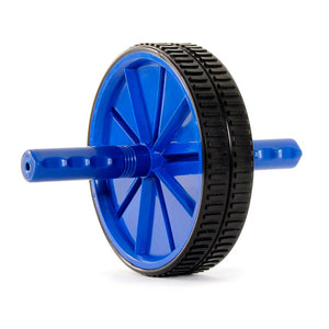 Prosource Ab Wheel - Abdominal Exercise Equipment with Handles  blue