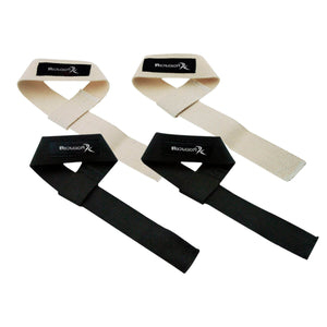 Prosource Adjustable Weight Lifting Straps for Improved Grip - Pair
