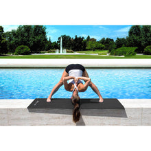 "Load image into Gallery viewer, Prosource Classic Yoga Exercise Mat 1/8"" (3mm Thick) black"