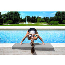 "Load image into Gallery viewer, Prosource Classic Yoga Exercise Mat 1/8"" (3mm Thick) grey"