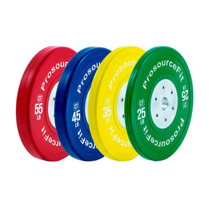 Prosource Competition Color Training Bumper Plates - Set of 2